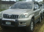 Toyota land cruiser prado en Managua Nicaragua  2004 | Toyota Land Cruiser Automatica